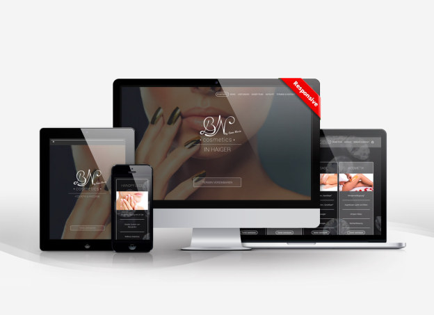 BN Cosmetics Haiger, responsives Design, Onepage