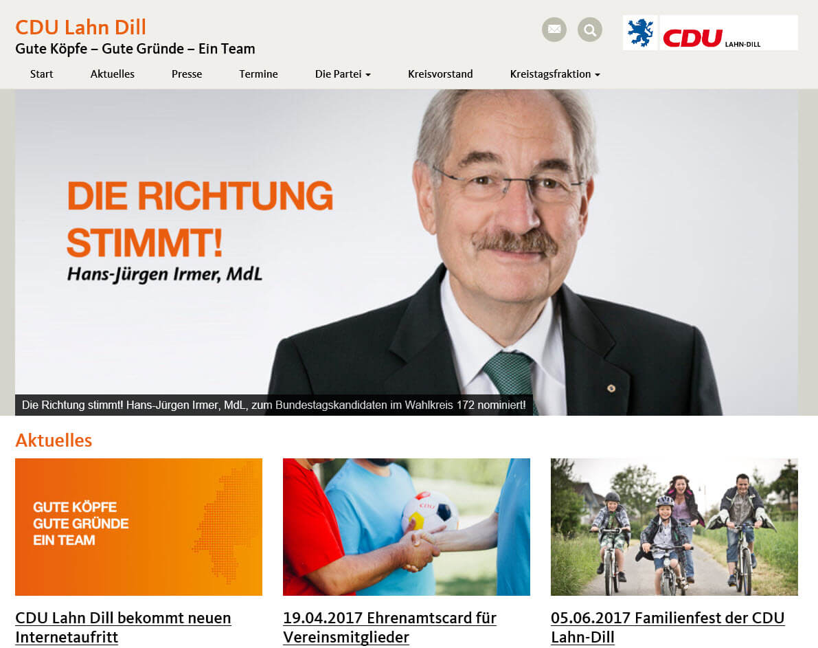 Wordpress Referenz Agentur Dupp GmbH