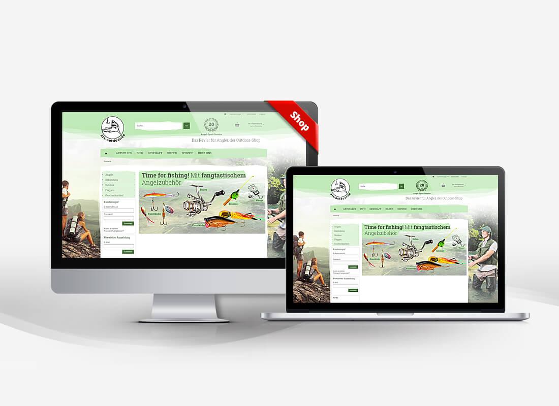ASS-Otdoor Angelzubehör - Dupp GmbH Shop Webdesign Referenz