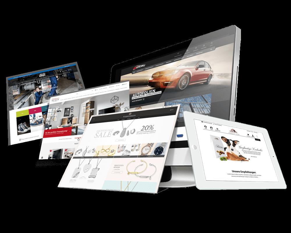 Shopware Referenzen - Wir sind Ihre Shopware Agentur in Haiger