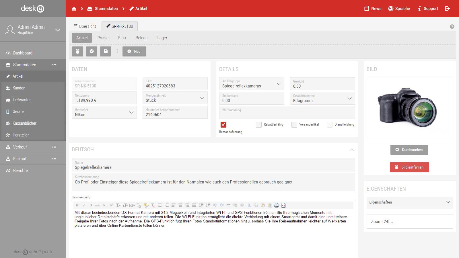 desk4 Onlinewarenwirtschaft von Dupp GmbH